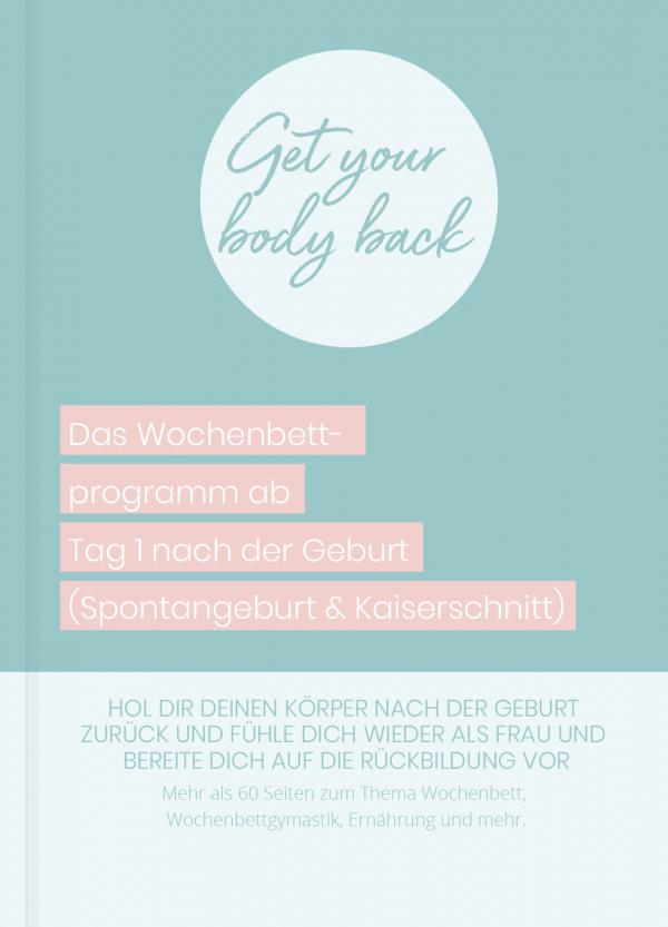 Get your body back - Wochenbettprogramm - Buch - Cover